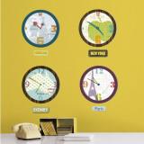 City Clocks Wall Decal