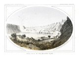 The Great Falls of the Missouri Located in Present Day Great Falls, Montana Premium Giclee Print by Gustav Sohon