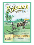 The Standard Mower Wall Decal by C.e. Hoffman