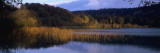 Reflection of Clouds in a Lake, Grand Lac Maclu, Jura, Franche-Comte, France Wall Decal by  Panoramic Images