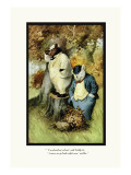 Teddy Roosevelt's Bears: Teddy B and Teddy G Are Lost Wall Decal by R.k. Culver