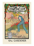 The Gardener Wall Decal by H.o. Kennedy