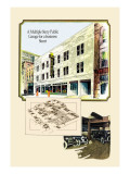 Multiple Story Garage Wall Decal by Geo E. Miller