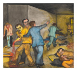 A Suicide Attempt at the Seattle City Jail Giclee Print by Ronald Ginther