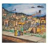 Hooverville, One of Many Shack Towns in the Seattle Area Giclee Print by Ronald Ginther