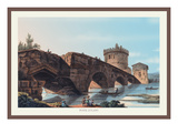 Ponte Lugano Wall Decal by M. Dubourg