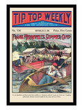 Tip Top Weekly: Frank Merriwell's Summer Camp Wall Decal by Burt L. Standish