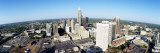 Aerial View of Charlotte, Mecklenburg County, North Carolina, USA Wall Decal by  Panoramic Images