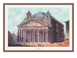Pantheon Wall Decal by M. Dubourg