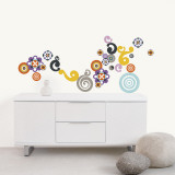 Spirals Wall Decal