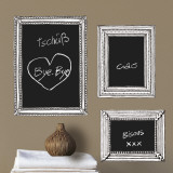 Hand drawn frames (Water Resistant Decal) Wall Decal