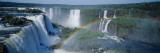 Iguacu Falls Parana Brazil Kalkomania ścienna autor Panoramic Images