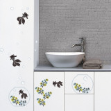 Japanese fishes (Water Resistant Decal) Autocollant mural