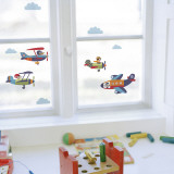Planes  (Window Decal) Wall Decal