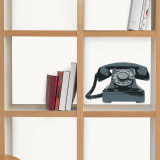 Vintage telephones (Water Resistant Decal) Wall Decal