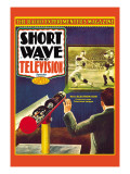 Short Wave and Television: New Electronic Gun Projects Large Television Images Wall Decal by Frank R. Paul