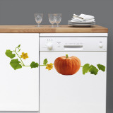 Pumpkin (Water Resistant Decal) Wall Decal