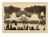 Versailles, Latona Bassin, High Waters Wall Decal by Helio E. Ledeley