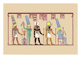 Amen-Ra, King of the Gods Wall Decal by J. Gardner Wilkinson