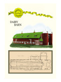 Dairy Barn Wall Decal by Geo E. Miller