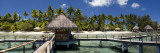 Beach Hut at a Tourist Resort, Bora Bora, Society Islands, French Polynesia Wall Decal by  Panoramic Images