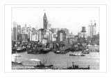 Highrises of Lower New York Wall Decal by A. Loeffler