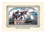 Death of Colonel Rennie Wall Decal by J. Downes