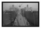 Richard Henry Lee and Sister Ship Wall Decal by Alfred T. Palmer