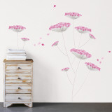 Lace flowers Wall Decal