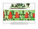 Improvements in Front Yards of City Lots Wall Decal by J. Weidermann
