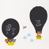 Hot air balloons (Water Resistant Decal) Wandtattoo