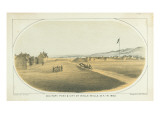 Military Post and Small Settlement of Walla Walla Giclee Print by Gustav Sohon