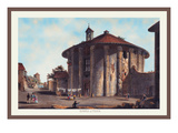 Temple of Vesta Wall Decal by M. Dubourg