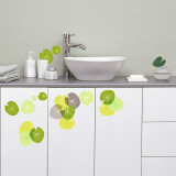 Water lilies (Water Resistant Decal) Wall Decal