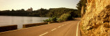 Road Along a Lake, Castellet I La Gornal, Alt Penedes, Barcelona Province, Catalonia, Spain Wall Decal by  Panoramic Images