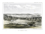 The Blackfoot Valley in Montana Northeast of Present Day Missoula Giclee Print by Gustav Sohon