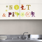 Salt & Pepper (Water Resistant Decal) Wall Decal