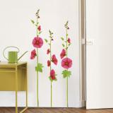 Malvas-rosa Decalques de parede