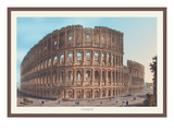 Coliseum Wall Decal by M. Dubourg