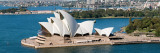 Opera House at Waterfront, Sydney Opera House, Sydney Harbor, Sydney, New South Wales, Australia Wall Decal by  Panoramic Images