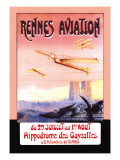 Rennes Aviation Wall Decal by F. Boursier
