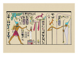 Festival for Ramses II Wall Decal by J. Gardner Wilkinson