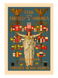 For United America Wall Decal by C. Howard Walker