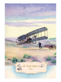 The Wright Biplane, 1903 Wall Decal by Charles H. Hubbell