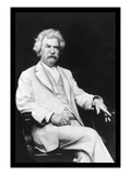 Mark Twain Wall Decal by A.f. Bradley