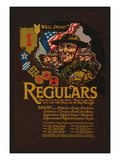 Enlist in the Regular Army Division Wall Decal by John W. Sheeres
