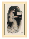 Love Song Wall Decal by Clarence F. Underwood