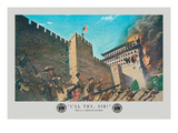I'll Try, Boxer Rebellion Wall Decal by Hugh Charles Mcbarron Jr.