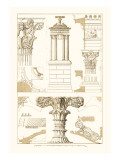 Monument of Lysicrates at Athens Wall Decal by J. Buhlmann