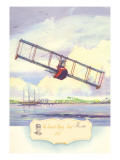 The Benoist Flying Boat, 1914 Wall Decal by Charles H. Hubbell